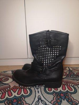 Deichmann Winter Boots black