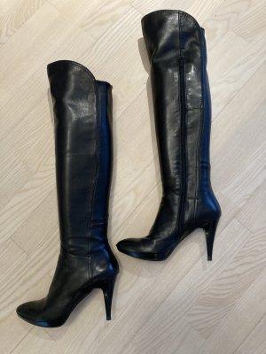 Andrea Sabatini Botas sobre la rodilla negro Cuero