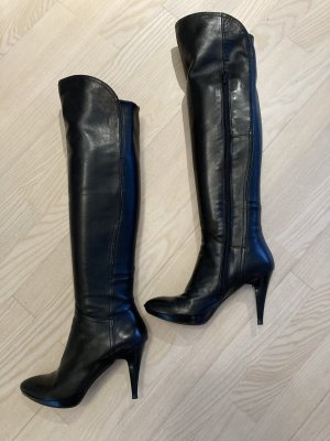 Andrea Sabatini Stivale cuissard nero Pelle