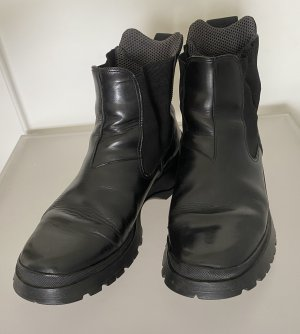 Prada Chelsea laarzen zwart