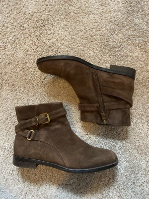 Ralph Lauren Korte laarzen bruin