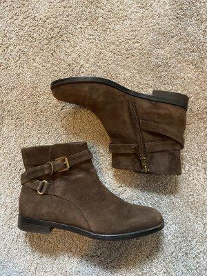 Ralph Lauren Krótkie buty brązowy