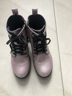 Dockers Lace-up Boots pink