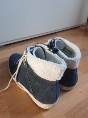 Tamaris Botines de invierno azul oscuro