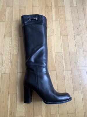 Stiefel schwarz 37 (schmale Schaftweite)