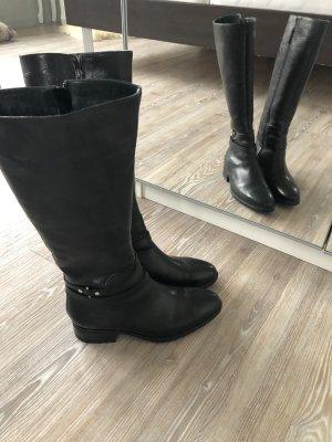Stiefel schwarz echtleder