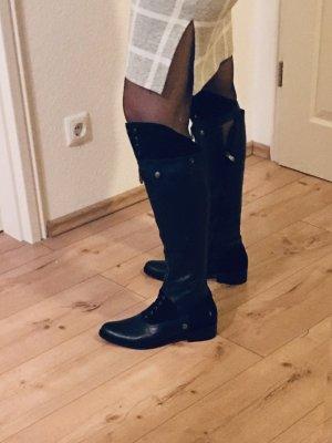 Stiefel schwarz Hunter Gr 40