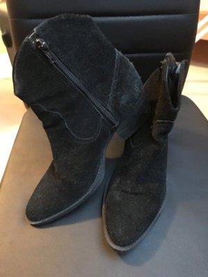 Stiefel schwarz Schutz 37