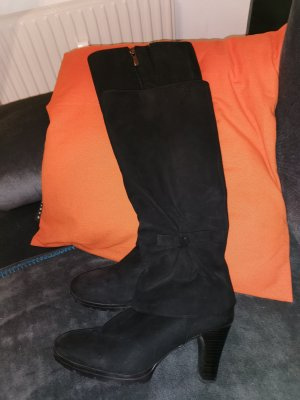 Caprice Heel Boots black