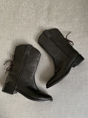 See by Chloé Short Boots black leather