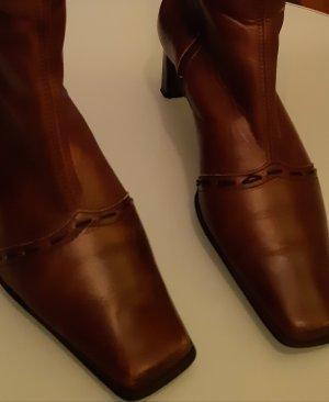 Servas Stivale a gamba corta marrone