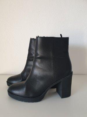 H&M Divided Heel Boots black