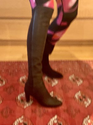 Stuart weitzman Stretch Boots dark brown