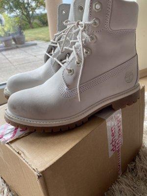 Timberland Lace-up Boots white-light grey