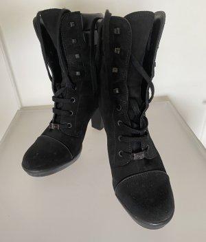 Tod's Bottines à lacets noir