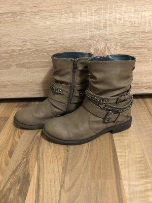 Tom Tailor Denim Boots western beige