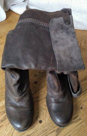 Stiefel Vic Matie braun-grau Absatz
