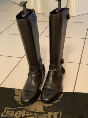 Belstaff Jackboots black leather