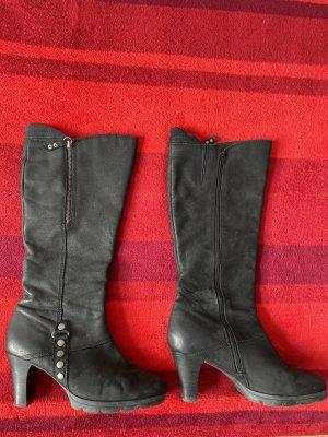 Stiefel von Caprice, schwarz, Gr.39