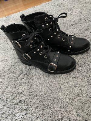 Catwalk Botas con cordones negro