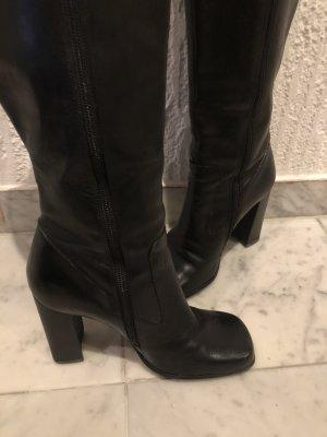 diba High Heel Boots black leather