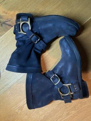 Dolce & Gabbana Chelsea Boot bleu foncé
