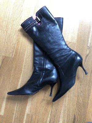 Escada High Heel Boots black-pink