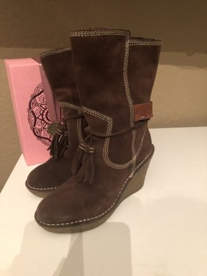 Hilfiger Short Boots bronze-colored leather