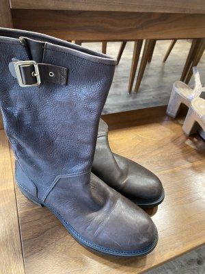 Hugo Boss Krótkie buty ciemnobrązowy