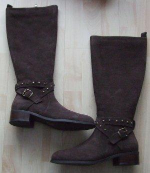 Stiefel von Isabel Licardi  - Leder - Gr. 39