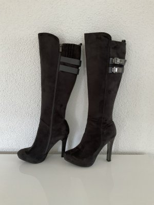 Laura biagiotti High Heel Boots anthracite