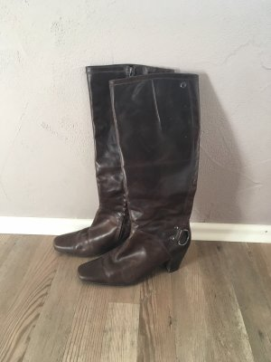 Stiefel von Marc O'Polo in dunkelbraun Größe 36