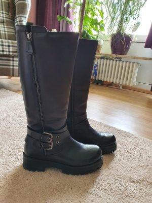 Park Lane Combat Boots black