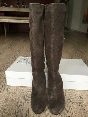 Stiefel von Pedro Garcia, Gr. 37,5, taupefarben