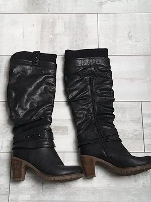 Rieker Heel Boots black
