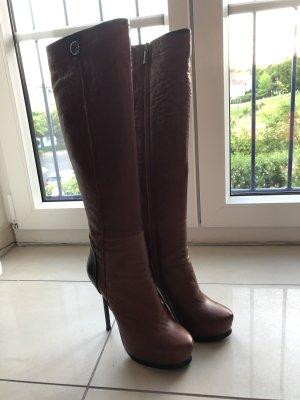 Stiefel von Rosa Rot cognac Gr.36,5