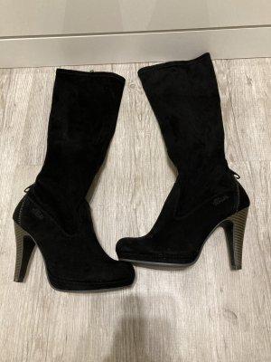 s.Oliver Heel Boots black