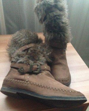 Sommerkind Winter Boots brown mixture fibre