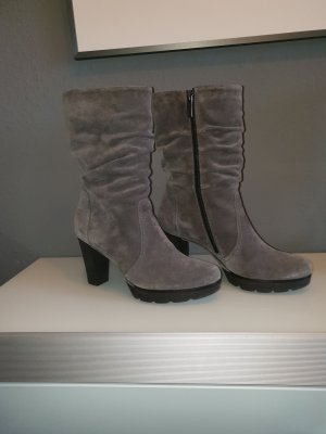 Stiefel Wildleder grau sehr elegant
