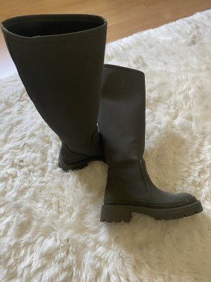 Zara Wellies green grey