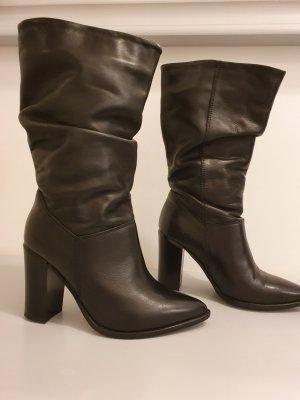 Zign Korte laarzen zwart Leer