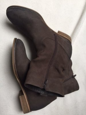 Short Boots bronze-colored-brown leather