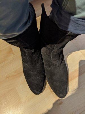 max joy Slip-on Booties black