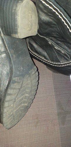 Zipper Booties black