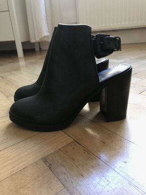 Royal republiq Cut Out Booties black