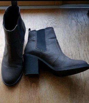 stiefelette,  Ankle Boots,  h&m, neu, braun, 39 ,mit Absatz