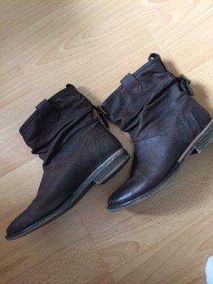 Varese Krótkie buty ciemnobrązowy