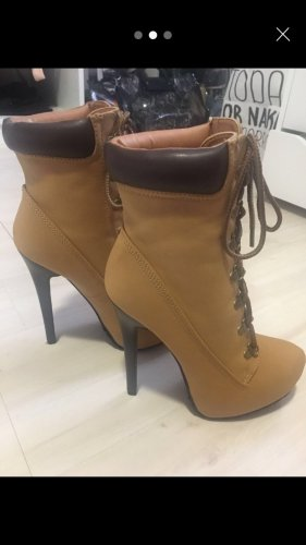 Just Fab Platform Boots multicolored