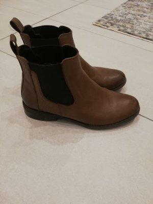 Lasocki Botines slouch marrón-coñac