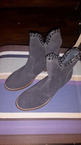 Sommerkind Slip-on Booties slate-gray